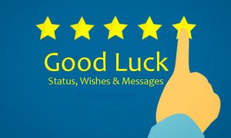 Good Luck Status – Good Luck Wishes & Messages