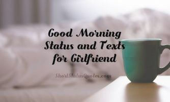 Good Morning Status for Girlfriend – Morning Text Messages