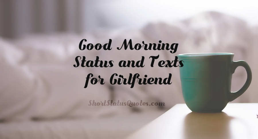Good Morning Status For Girlfriend Morning Text Messages