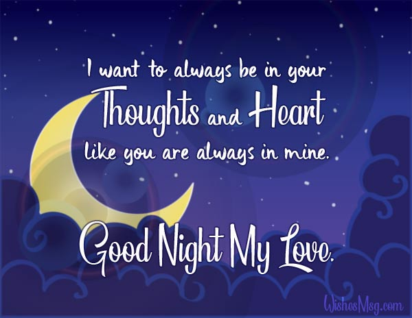 Good Night Status Romantic Good Night Wishes Messages