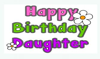 Birthday Status For Daughter – Short Quotes and Messages
