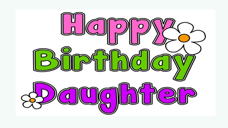 Birthday Status For Daughter