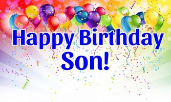 Birthday Status For Son – Happy Birthday Messages and Quotes