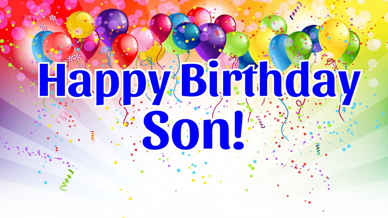 Birthday Status For Son - Happy Birthday Messages and Quotes