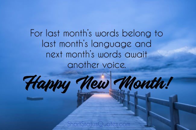 new month quotes and prayers