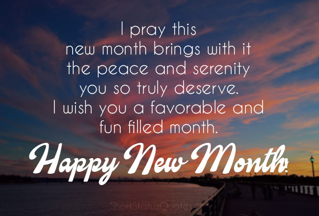 happy new month images and quotes
