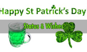 St Patrick's Day Status – Happy St Patrick's Day Wishes Messages