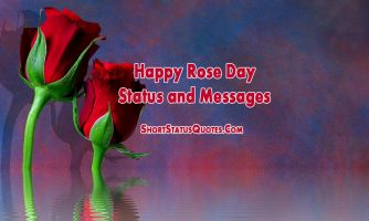 Rose Day Status and Quotes for Facebook, Whatsapp & Instagram