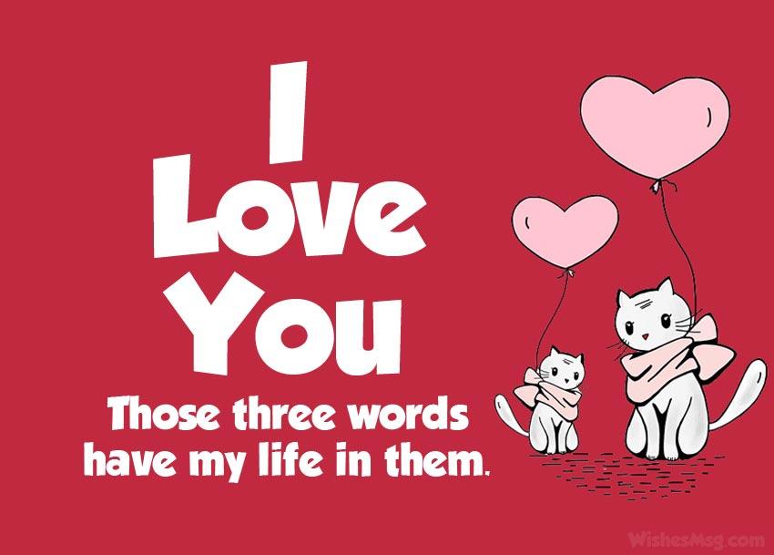 fb status love