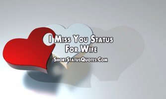 I Miss You Status for Wife – Missing You Quotes for Her