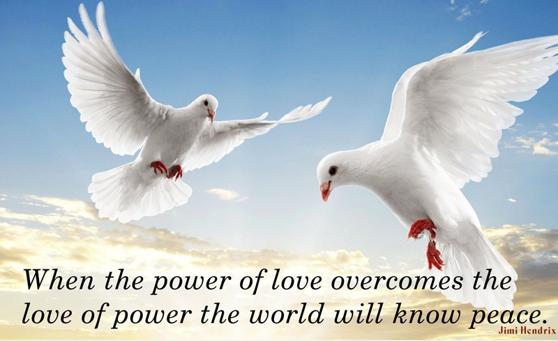 Peace And Love Quotes Amazing 100 Most Inspirational Peace Quotes And Short Status About Life