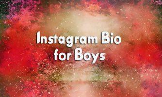 250+ [Best] Instagram Bio for Boys – Creative Bio Ideas for Guys