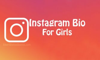 135+ Instagram Bio for Girls – Cute Girly Instagram Bios