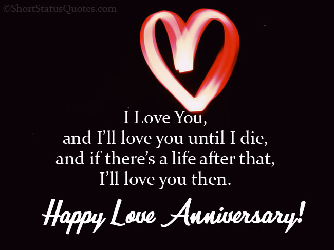Quotes About Love Anniversary