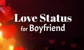150+ Love Status for Boyfriend – Sweet, Cute & Romantic