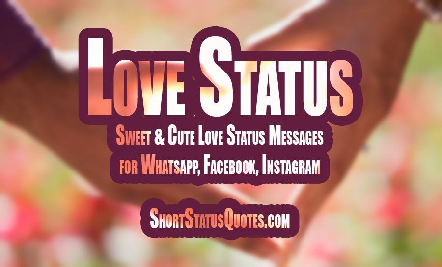 350+ [Best] Love Status - Romantic Love Status & Quotes (July 2019)