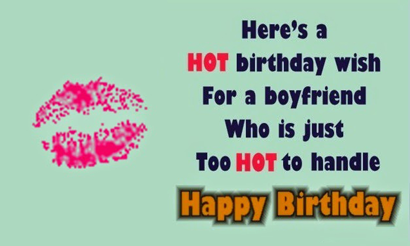 Birthday Status And Messages For Boyfriend