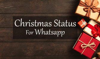 250+ Merry Christmas Wishes Whatsapp Status 2019