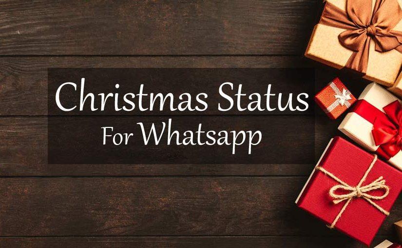 250 Merry Christmas Wishes Whatsapp Status 2019