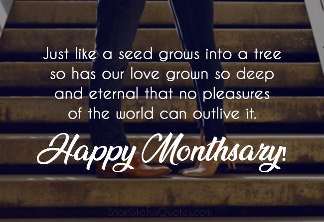 Monthsary Message for Boyfriend