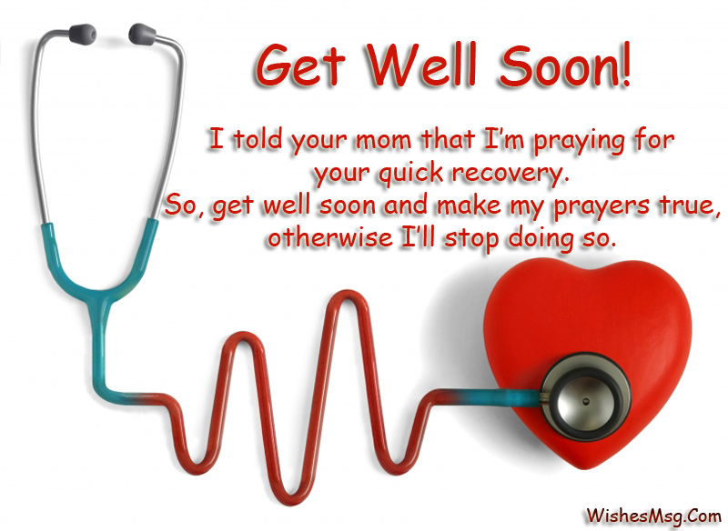 Heart Touching Get Well Soon Status Messages And Short Quotes