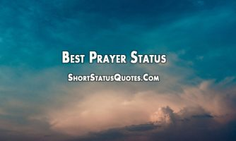 Prayer Status – Inspirational Prayer Quotes and Messages