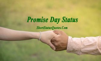 Promise Day Status, Captions, Short Quotes & Messages 2019