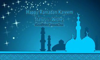 Ramadan Status – Ramadan Mubarak Messages