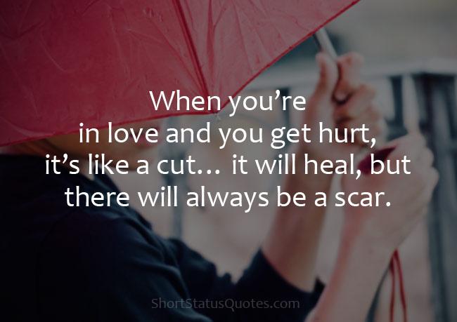 Heart Touching Sad Love Status