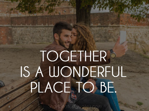 Romantic Selfie Captions for Couple