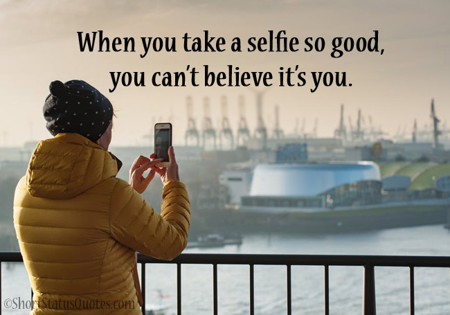 Funny Selfie Captions for Facebook