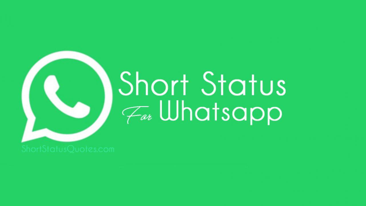 250best Short Status For Whatsapp In English Short
