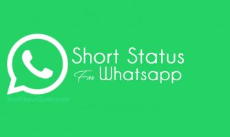 250+[Best] Short Status for Whatsapp in English