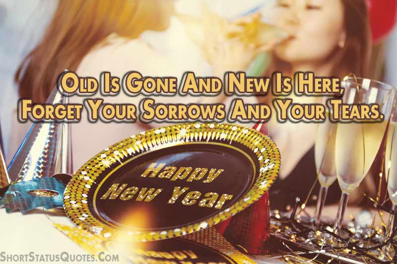 New Year Status for Whatsapp - New Year Wishes for 2018