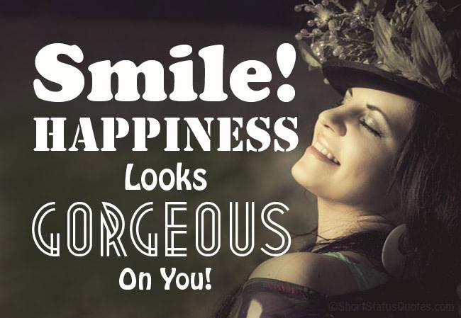 Smile Status in English