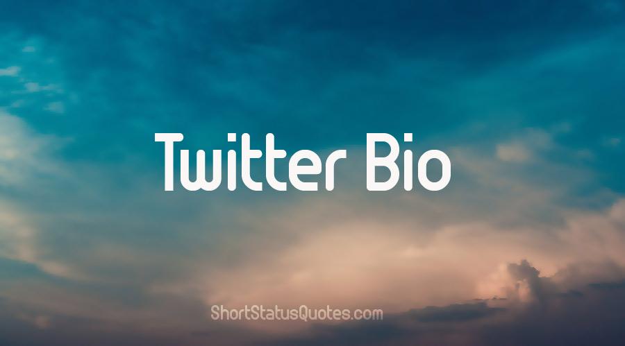 Twitter Bio & Funny Bio Ideas - Best Bio Lines for Twitter