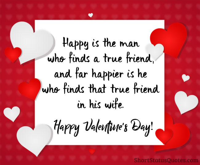 Happy Valentine Day Messages For Wife