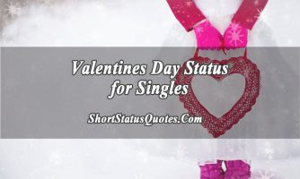 Valentines Day Status for Singles – Happy, Broken or Anti-Valentine