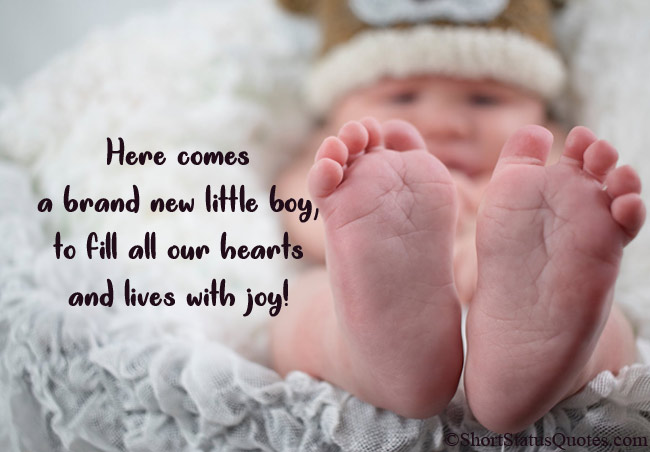 Status for New Born Baby Boy