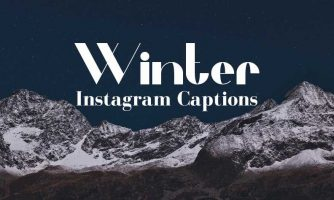 Winter Instagram Captions for Your Cold Weather Pictures
