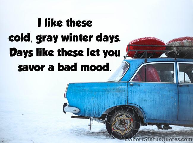 Short Winter Quotes