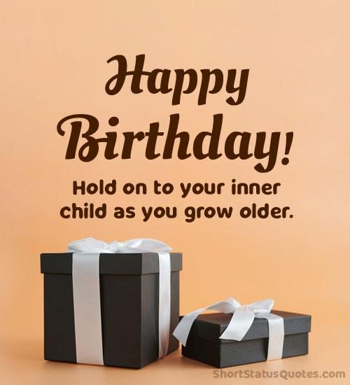 birthday wishes status
