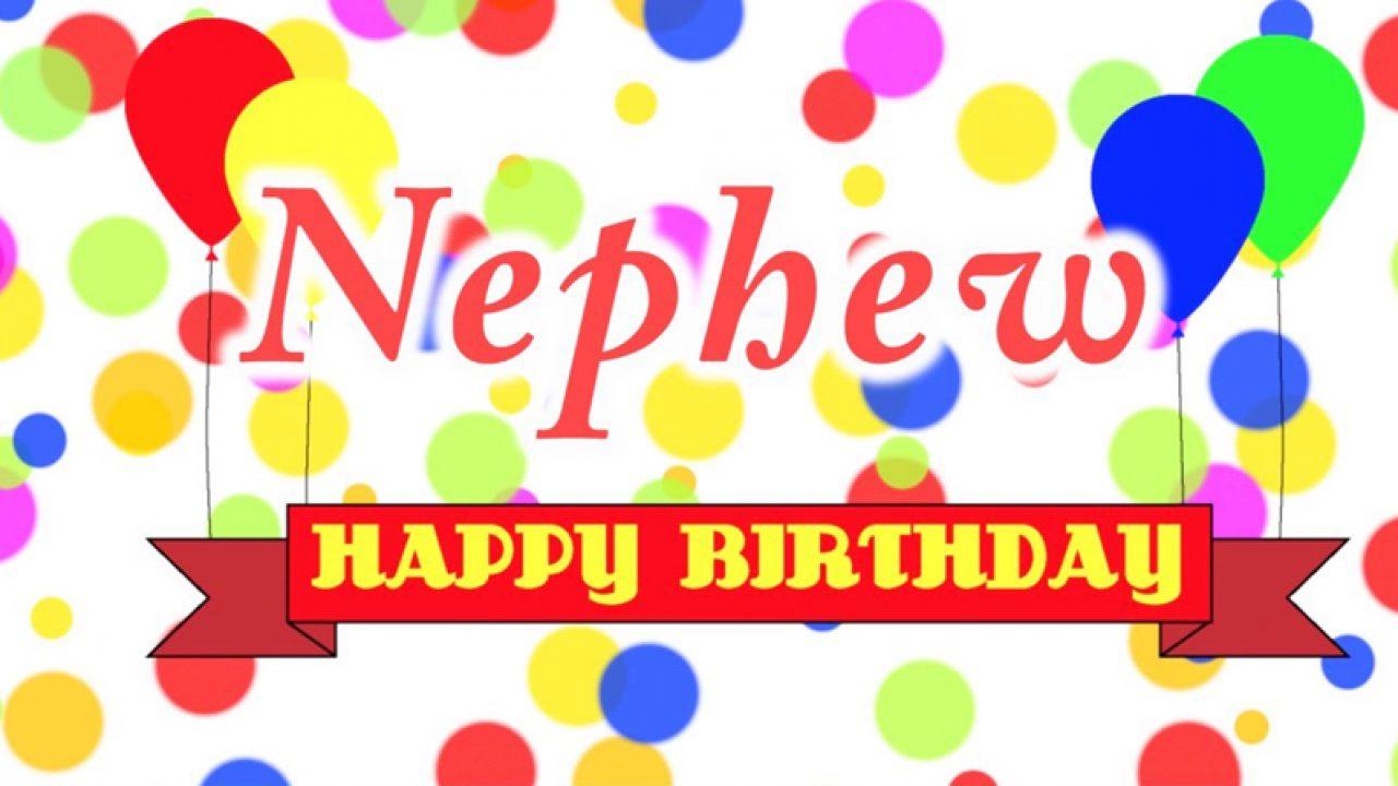 Birthday Status For Nephew - Happy Birthday Nephew Wishes