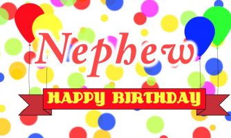 Birthday Status For Nephew – Happy Birthday Nephew Wishes Messages