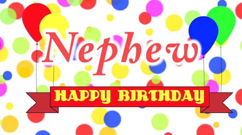 Birthday Status For Nephew