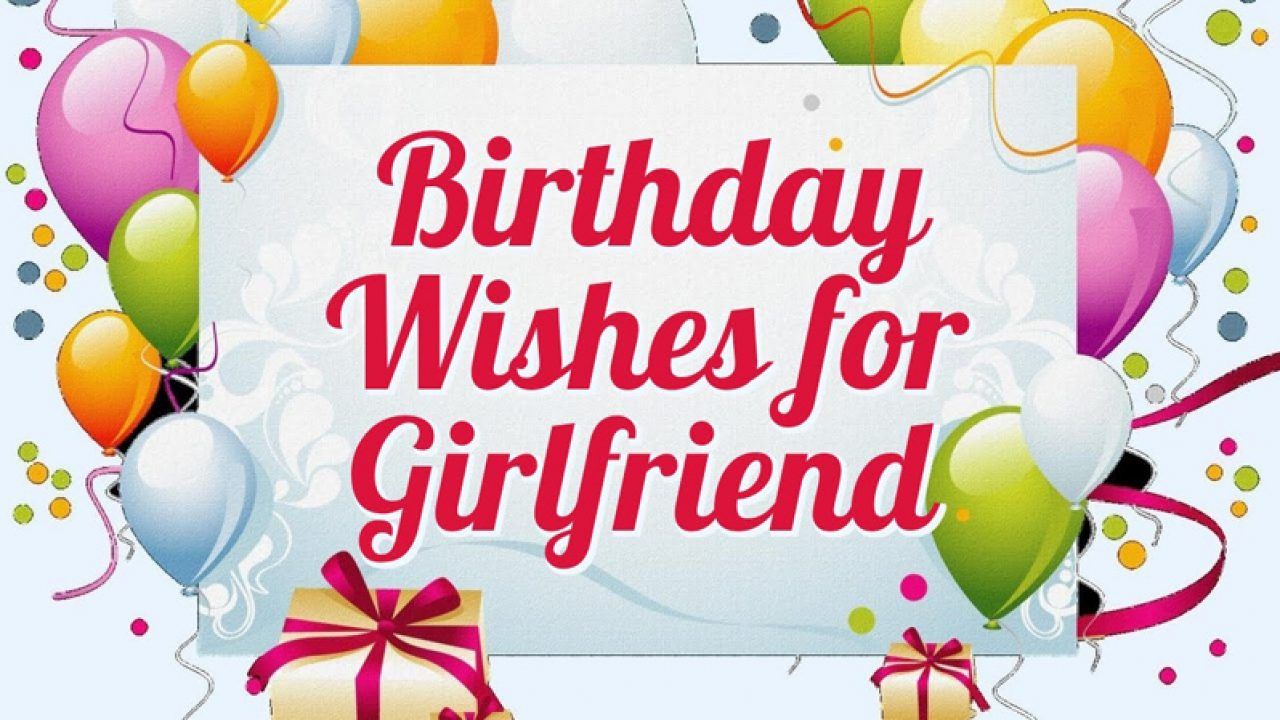 Birthday Status For Girlfriend - Lovely Wishes Messages