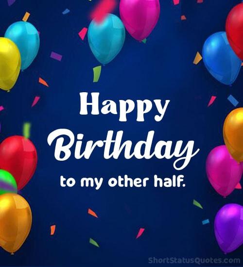 happy birthday wishes fb status