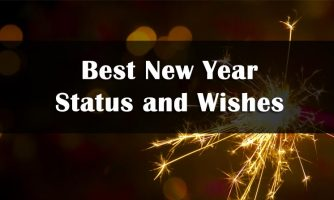 Happy New Year Status, Captions & New Year Wishes 2019