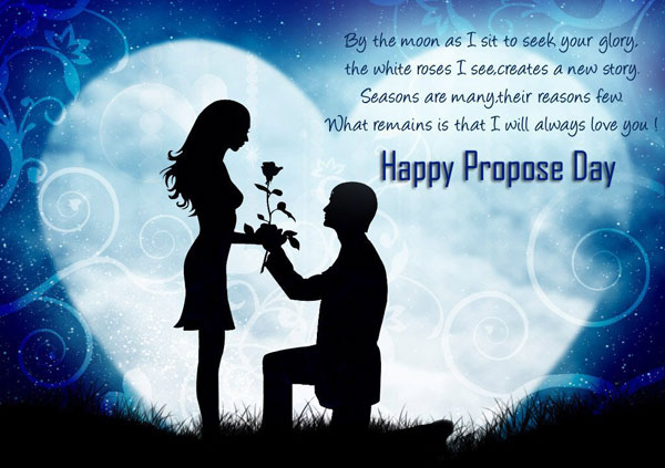 happy propose day status