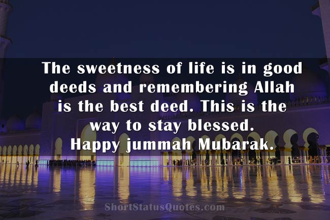 jumma mubarak wishes messages